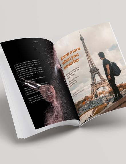 Sample Business Profile Magazine