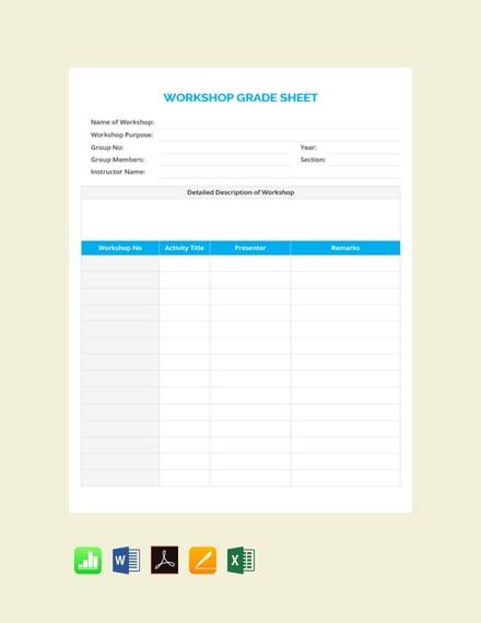Free-Workshop-Grade-Sheet-Template
