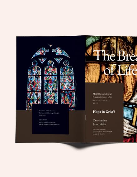 Custamize Editable Church Magazine Template