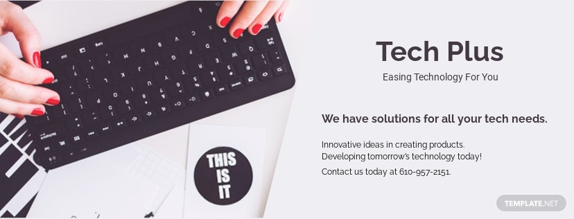 Free Startup Business Facebook Cover Page Template