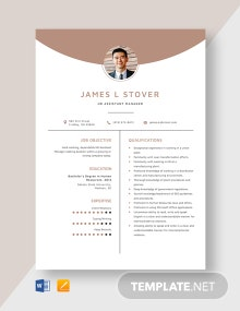 HR Assistant Manager Resume Template