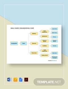 Free Small Church Organizational Chart Template