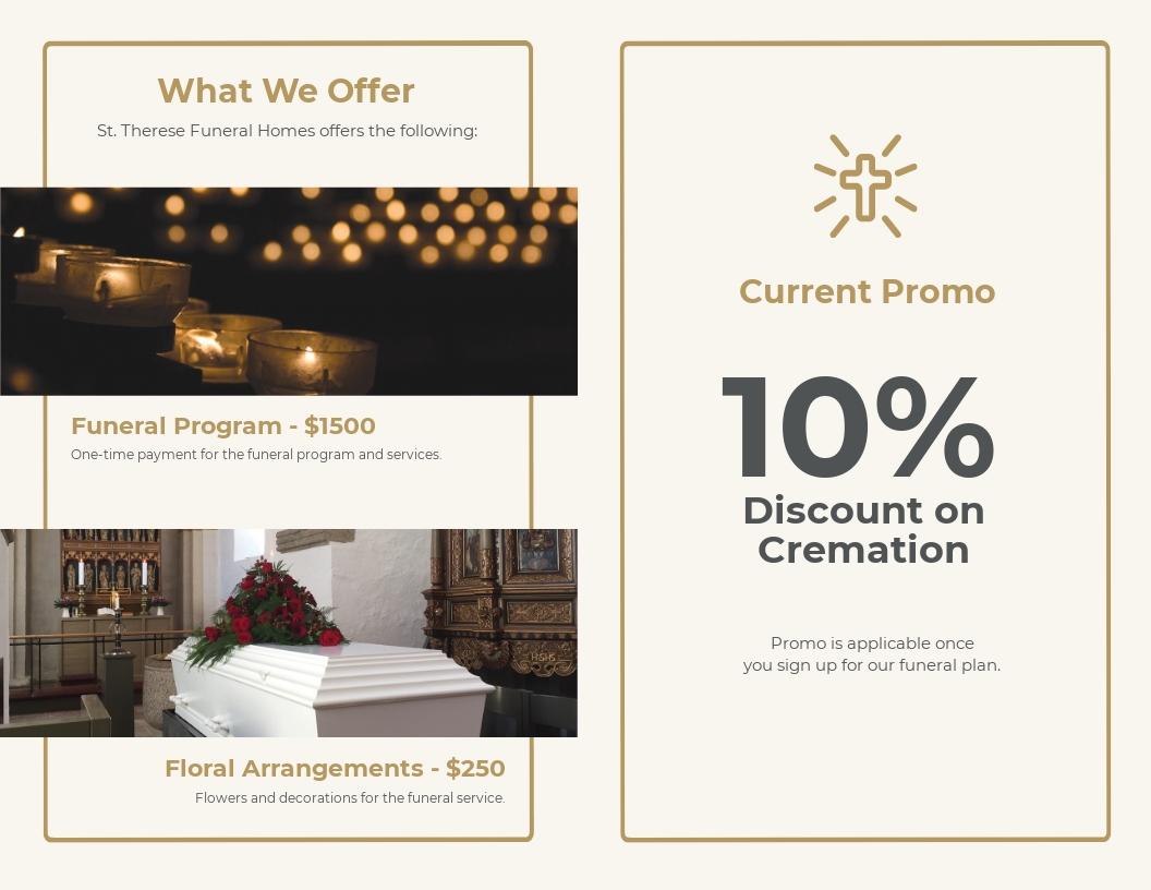 Order Of Service Funeral Program Bi Fold Brochure Template 1.jpe
