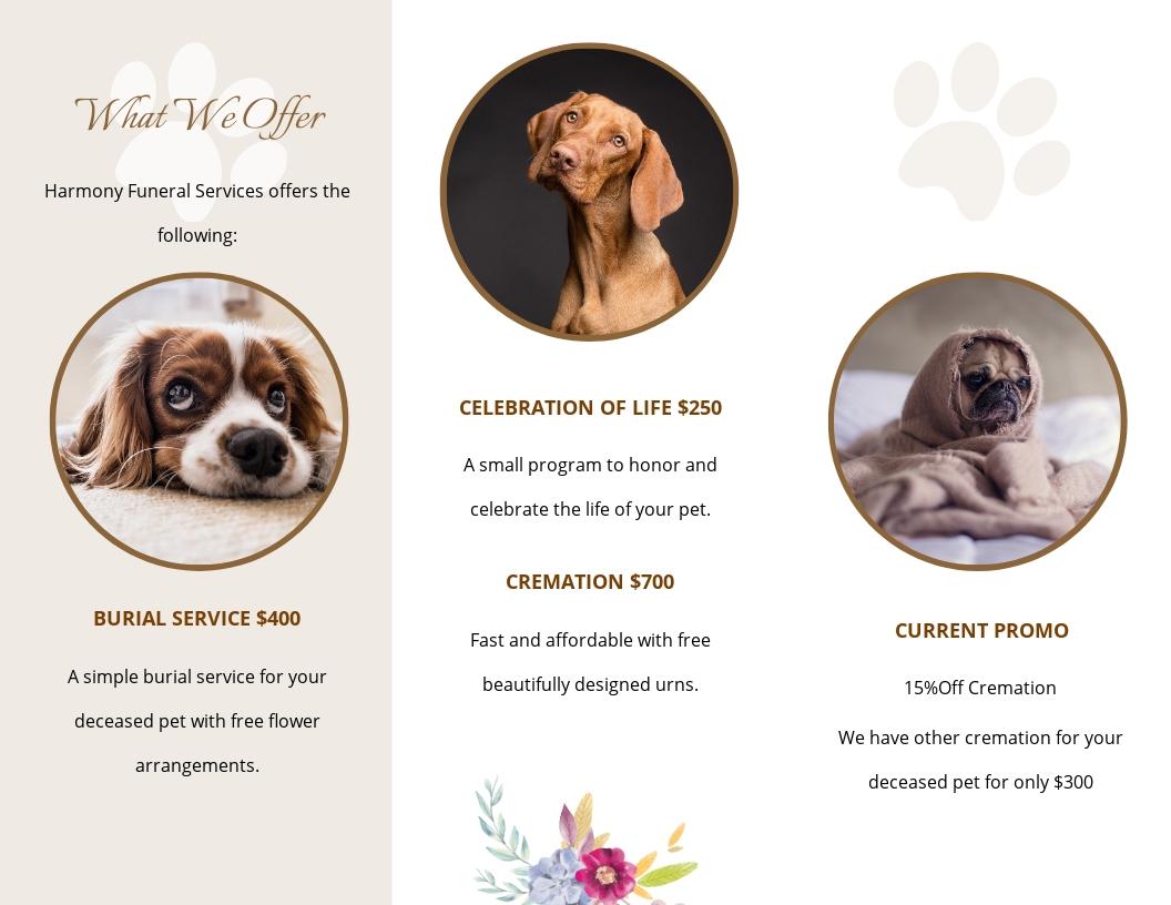 Pet Cremation Funeral Tri Fold Brochure Template 1.jpe