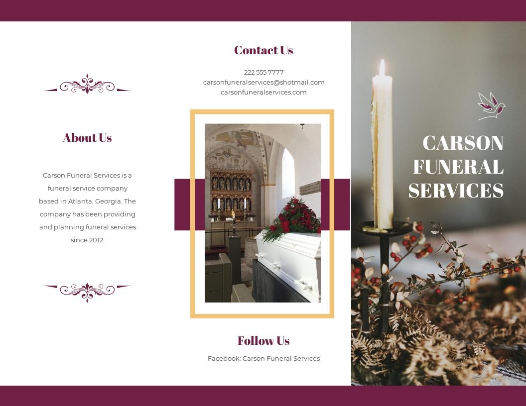 Planning a Funeral Service Tri Fold Brochure Template.jpe