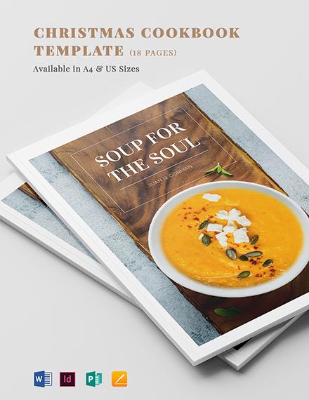 Modern Cookbook Template