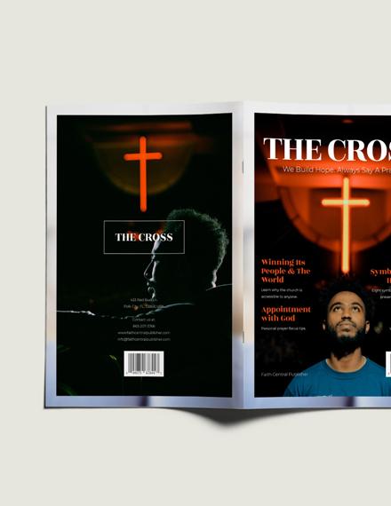 Customize Catholic Church Magazine