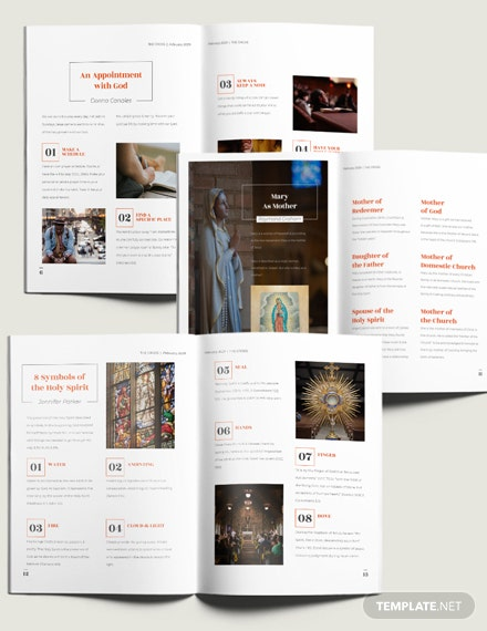 Sample Catholic Church Magazine