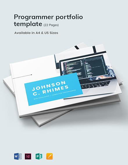 Programmer Portfolio Template