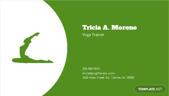 Yoga  Spa Studio Business Card Template 1.jpe