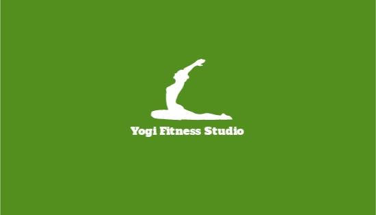 Yoga & Spa Studio Business Card Template