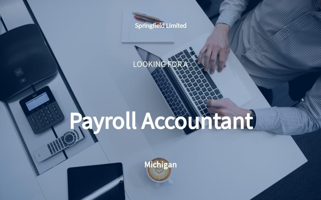 Free Payroll Accountant Job Description Template.jpe