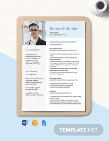 Project Accountant Resume Template