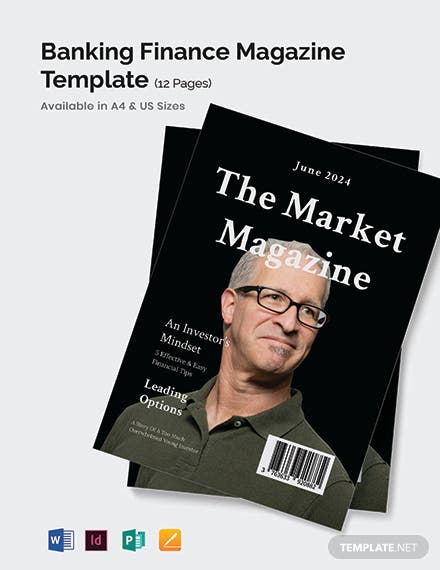 Banking & Finance Magazine Template