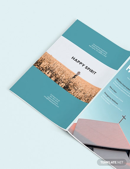 Custamize  Basic Church Magazine