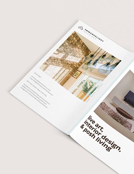 Custamize Basic Interior Design Magazine