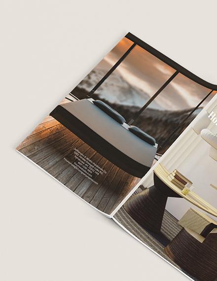 Custamize Basic Real Estate Magazine