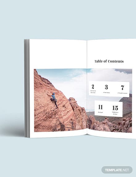 Basic Travel Magazine Template [Free Publisher] - InDesign, Word, Apple Pages