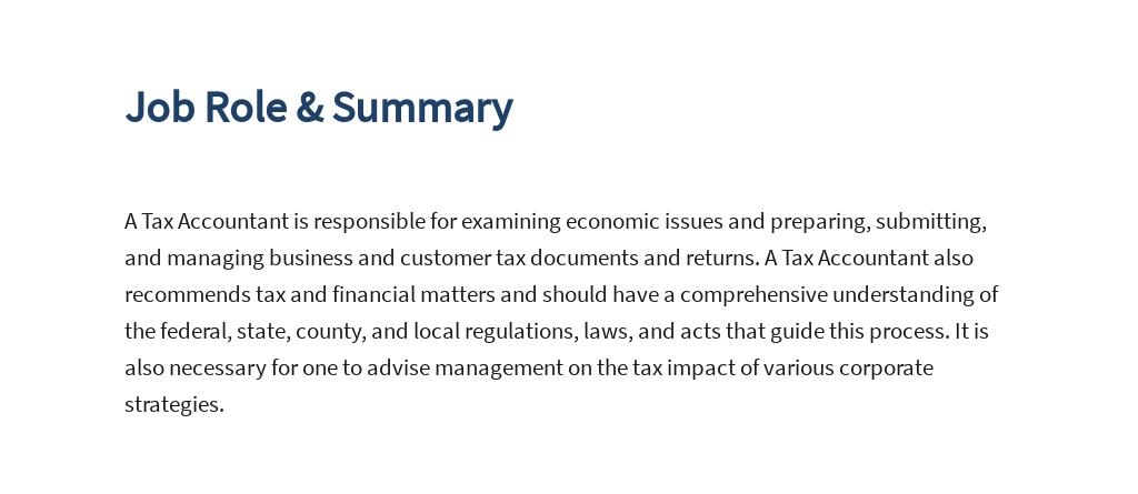Tax Accountant Job Ad/Description Template 2.jpe