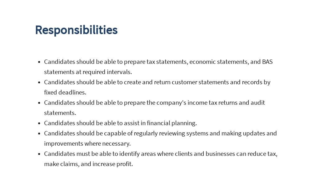Tax Accountant Job Ad/Description Template 3.jpe