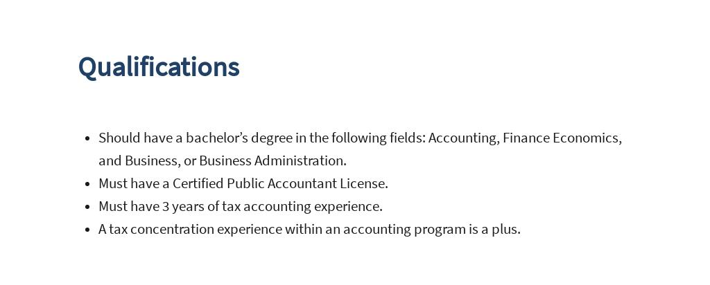 Tax Accountant Job Ad/Description Template 5.jpe