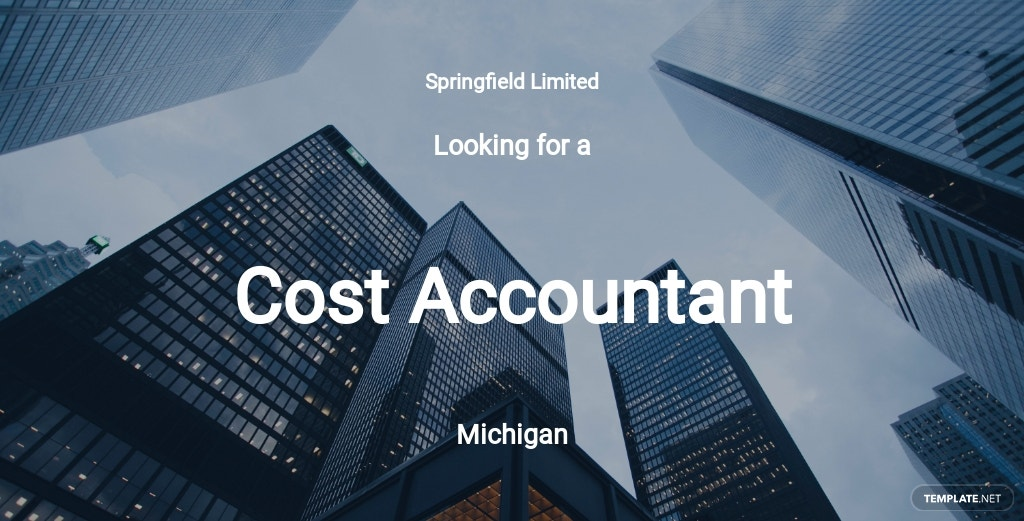 Free Cost Accountant Job Ad/Description Template.jpe