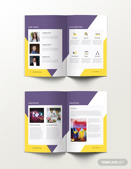 Free Event Proposal Template Download 57 Proposalsindesign Psd