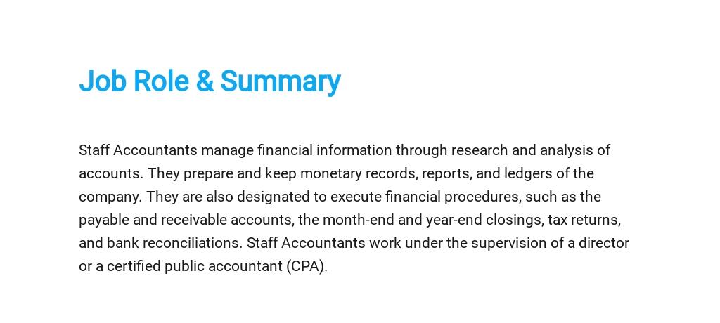 Free Staff Accountant Job Ad/Description Template 2.jpe