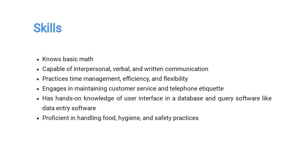 Free Cafe Cashier Job Description Template 4.jpe