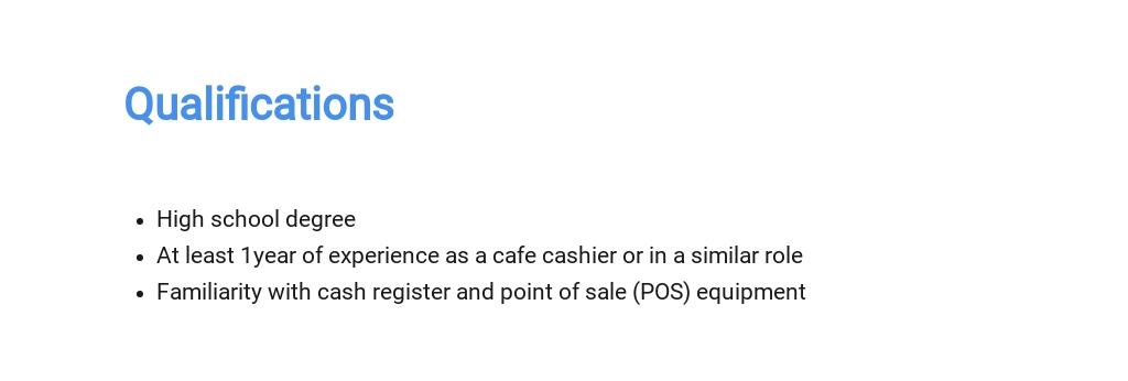 Free Cafe Cashier Job Description Template 5.jpe