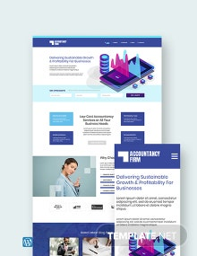 Accountancy Firm WordPress Theme/Template