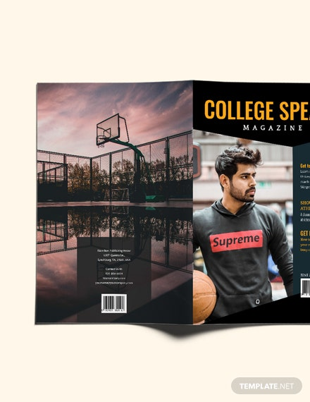 Sample College Annual Magazine