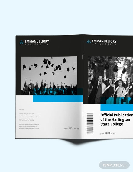Sample College Magazine