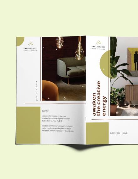 Sample Creative Interior Design Magazine