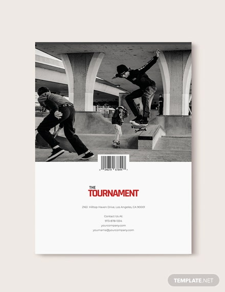 Sample Editable Sports Magazine