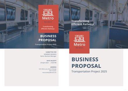 Transportation Business Proposal Template