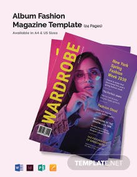 Apparel Magazine Template
