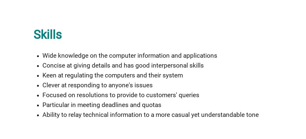 Free Customer Service Engineer Job Description Template 4.jpe