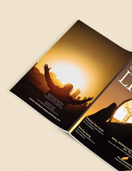 Sample Church Anniversary Magazine