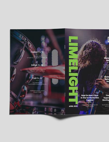 Sample Entertainment Magazine