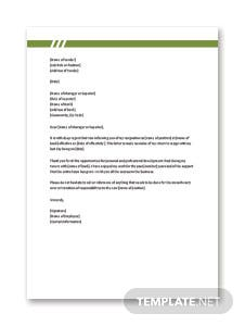Free employee resignation letter template in microsoft word apple resignation letter format for bank employee spiritdancerdesigns Gallery