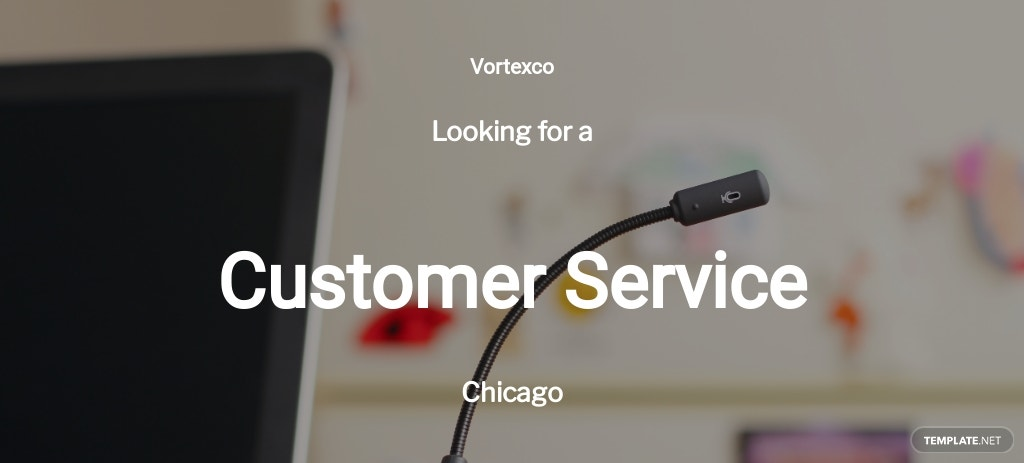 Customer Service Job Description Template