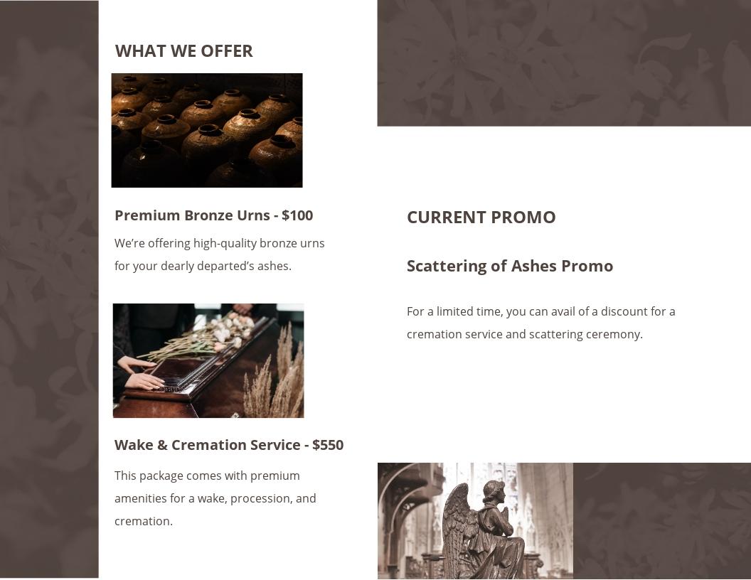 Printable Cremation Funeral Bi Fold Brochure Template 1.jpe
