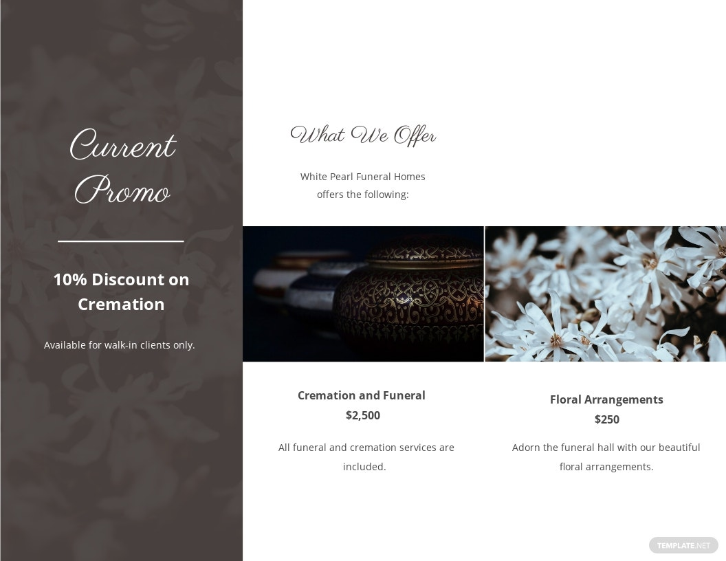 Printable Cremation Funeral Tri Fold Brochure Template 1.jpe