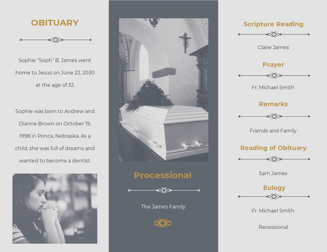 Religious Funeral Program Tri Fold Brochure Template 1.jpe