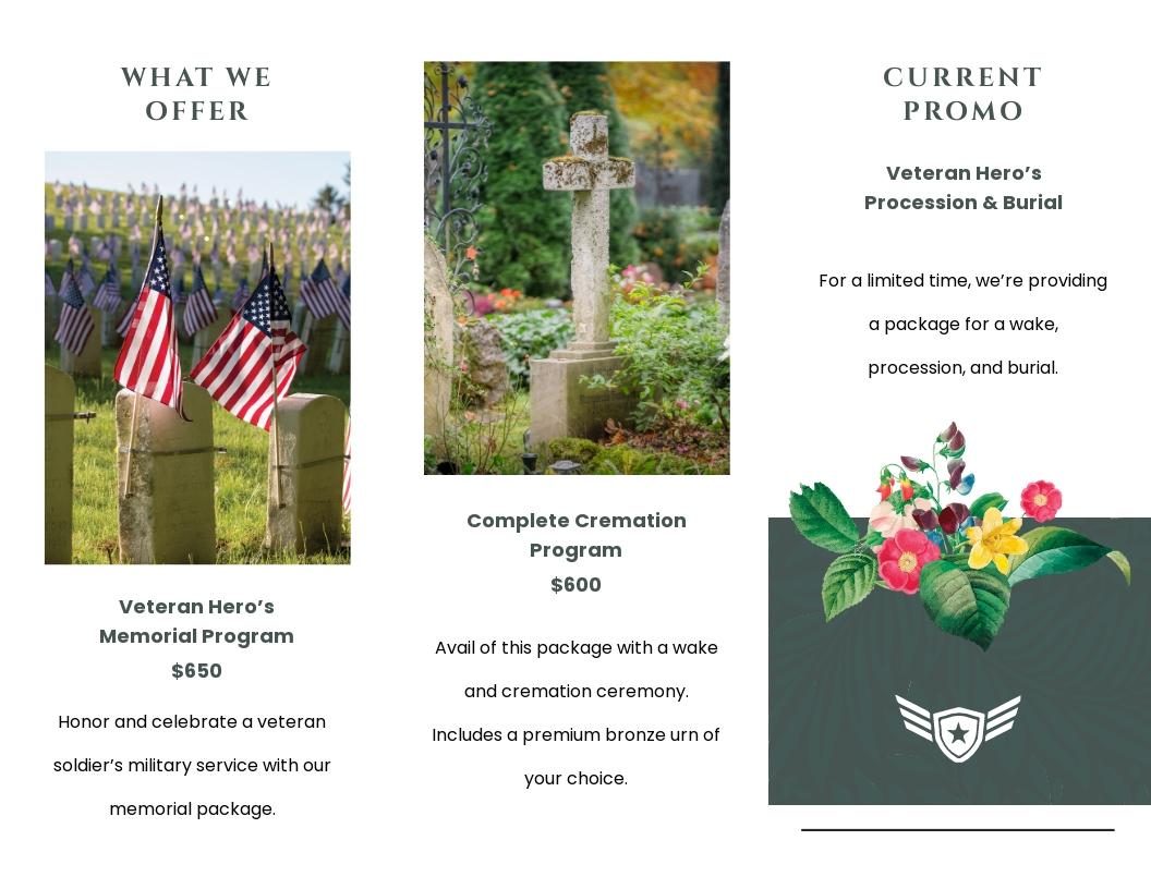 Veteran Funeral Memorial Tri Fold Brochure Template 1.jpe