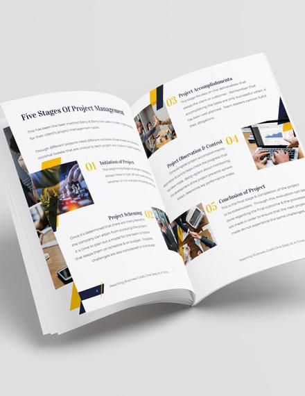 Project Management Portfolio Download