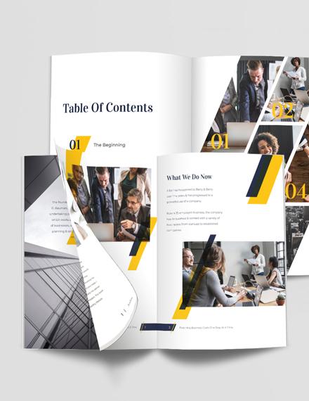 Project Management Portfolio Template
