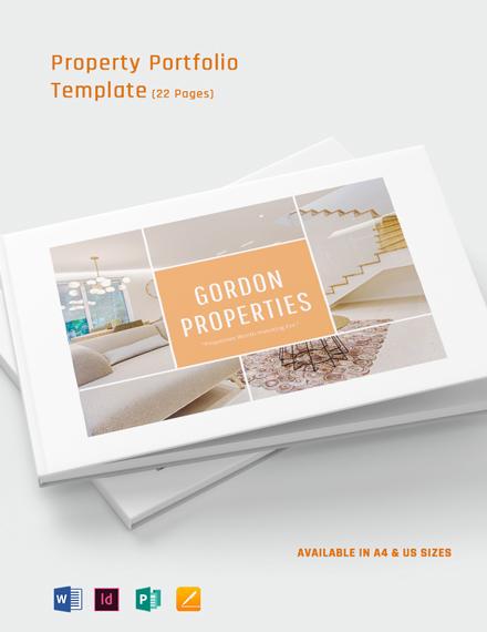 Property Portfolio Template