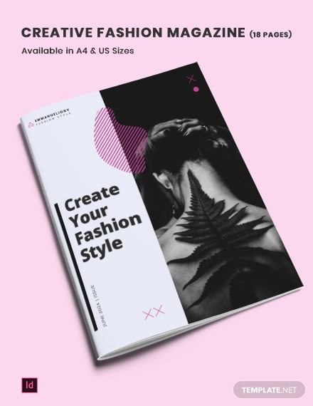 creative fashion   lifestyle magazine